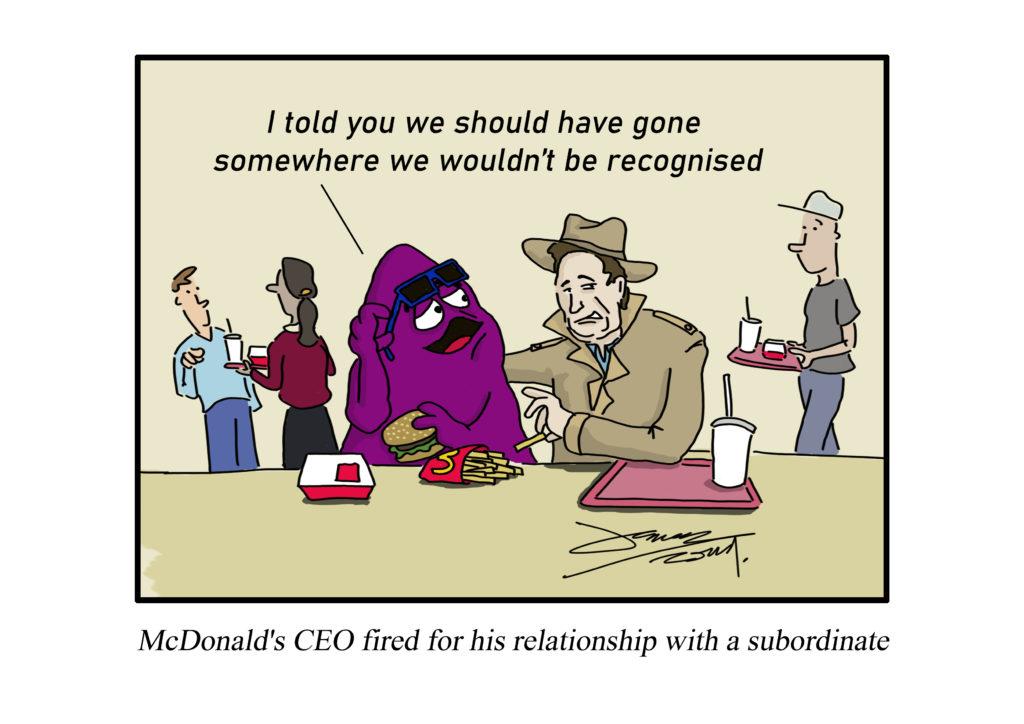 macdonald's CEO