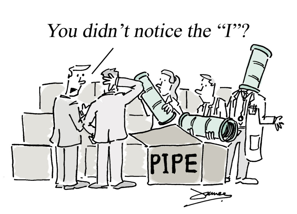 PPE shortage cartoon