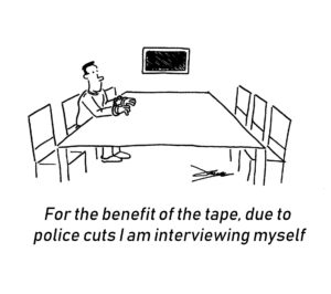 Line of Duty cartoon