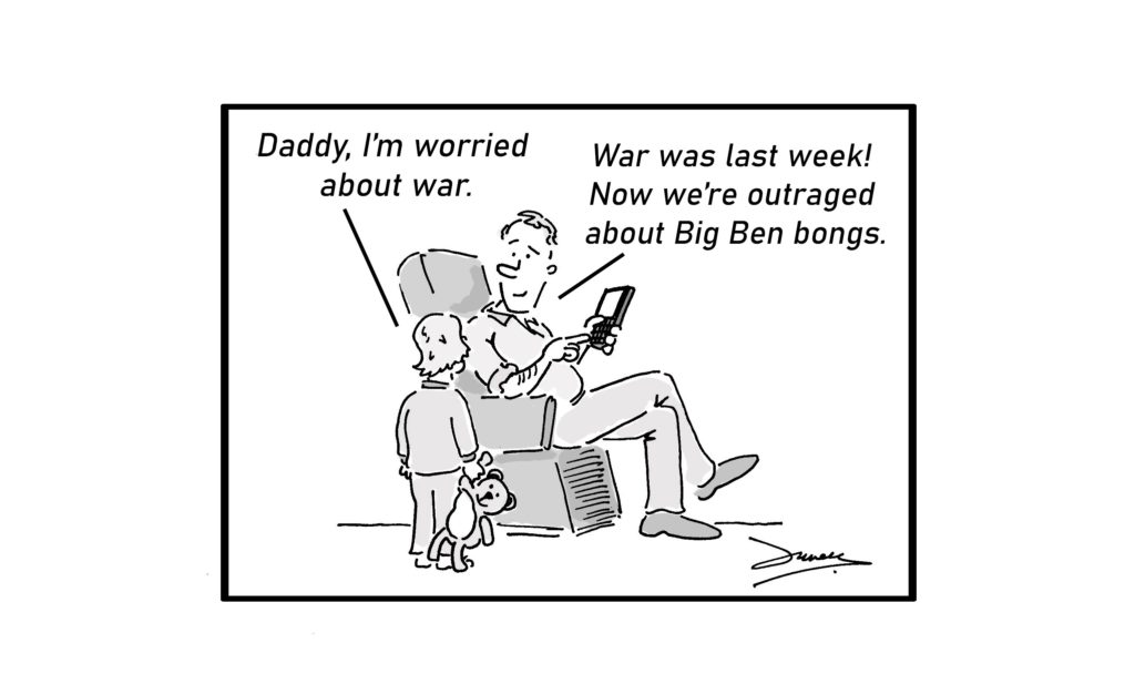 war cartoon