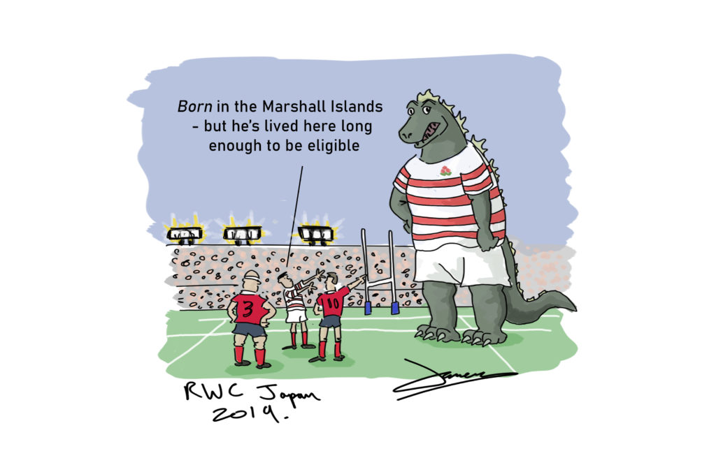 Rugby World Cup Cartoon