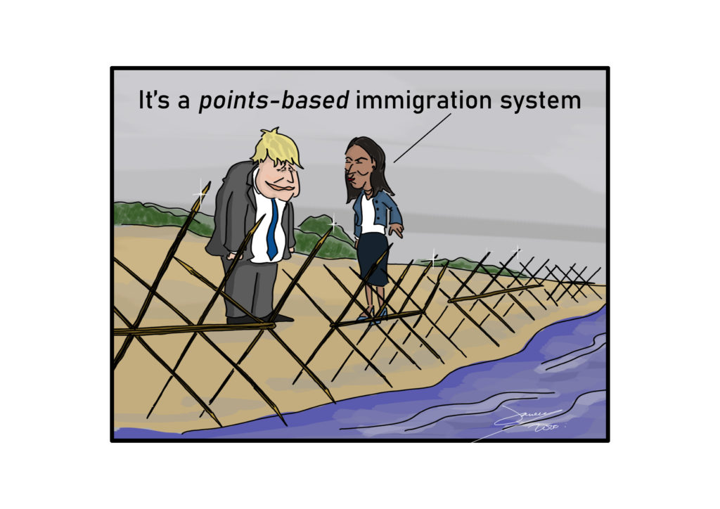 points based immigration system