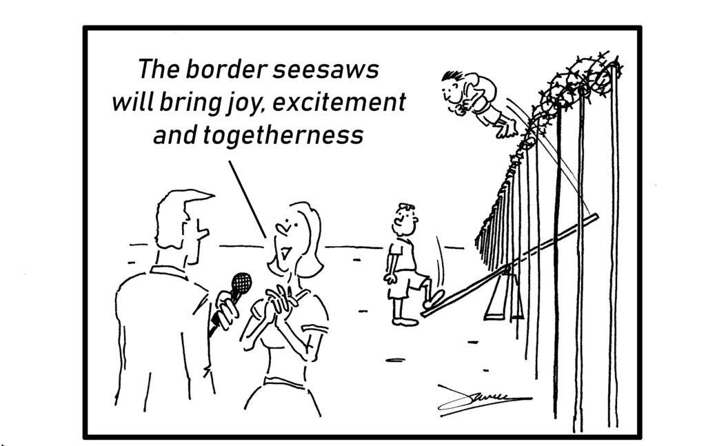 border seesaws