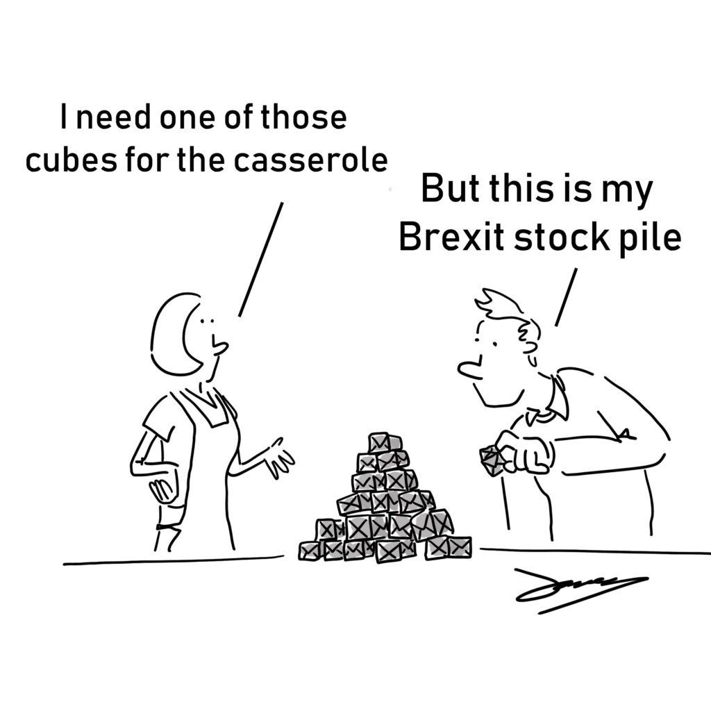 Brexit A Drawn Out Process stockpile