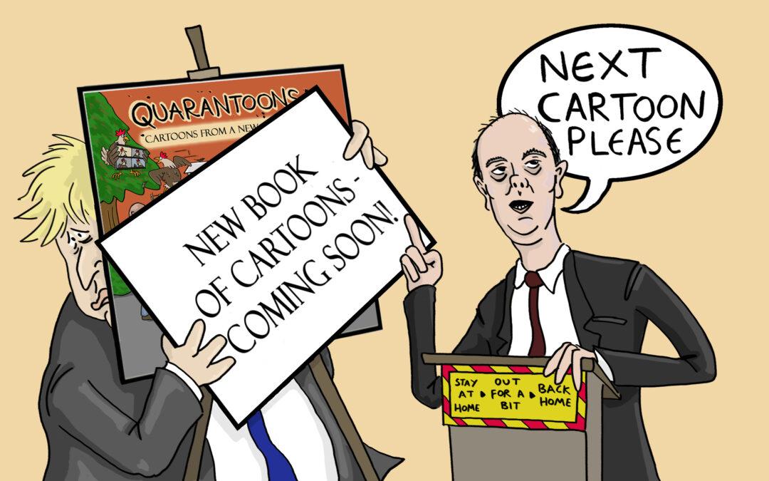 New Cartoon Book – 'Quarantoons'
