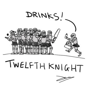 Knight cartoon