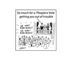 Private eye peoples vote cartoon