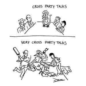 cross part talks