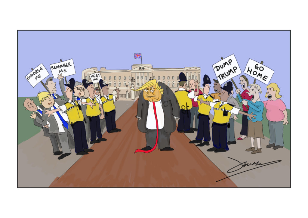 Donald Trump State Visit to the UK