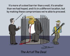 us government shutdown over trump wall