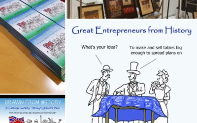 Cartoon Booklets and Special Edition Books – Corporate Gifts & Events