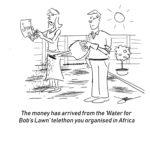 charity cartoon