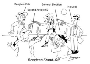 brexit mexican standoff