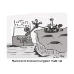organic life mars