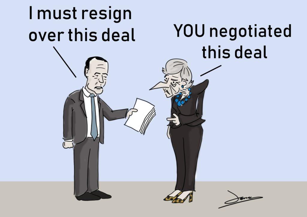 brexit minister cartoon