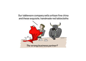 Business Partner Cartoon