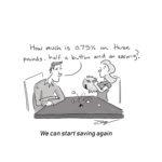 saving cartoon