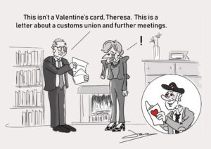 Valentines Card Cartoon