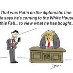 trump collusion cartoon
